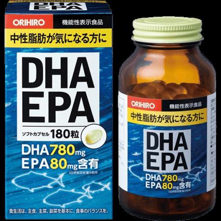 ДГК И ЭПК c витамином Е Орихиро