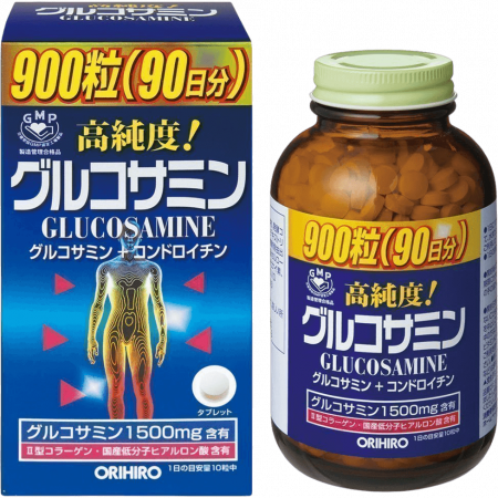 Глюкозамин с хондроитином и витаминами «ОРИХИРО» на 90 дней