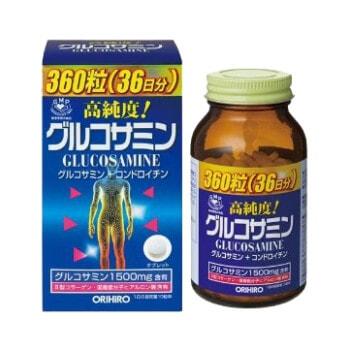 Глюкозамин с хондроитином и витаминами «ОРИХИРО»