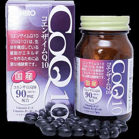 Фото коэнзим Q10 с витаминами Орихиро