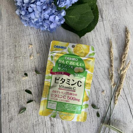 Фото Витамин С со вкусом лимона Орихиро