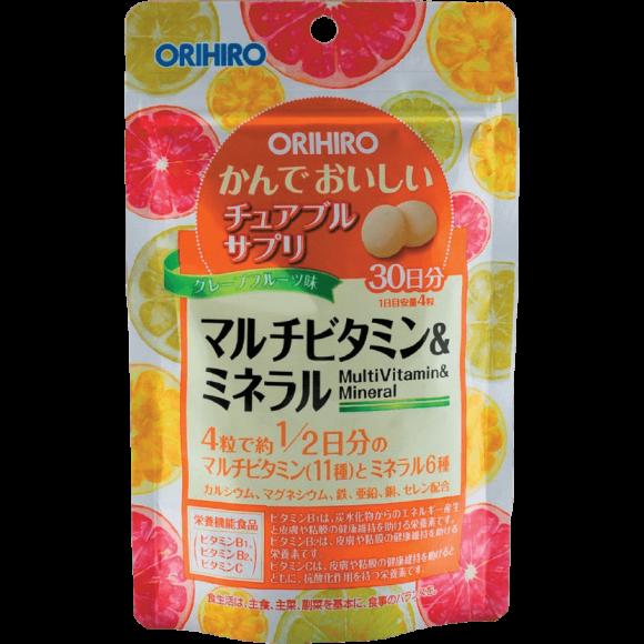 Мультивитамины и минералы со вкусом тропических фруктов, Орихиро